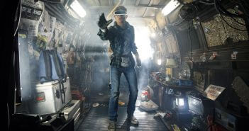 "Tye Sheridan as Wade in Warner Bros. Pictures', Amblin Entertainment's and Village Roadshow Pictures' action adventure ""READY PLAYER ONE,"" Photo: Jaap Buttendijk"